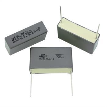 MKP-Kondens. rad. 2,2µF 300VAC RM37,5
