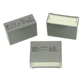 Motorkondensator 1,4µF 400V AC ; RM27,5 ; C244R4140ZA01J ; 1,4uF