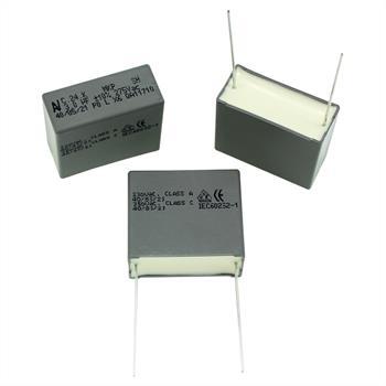 Motorkondensator 3µF 275V AC ; RM27,5 ; C24KR43004001K ; 3uF