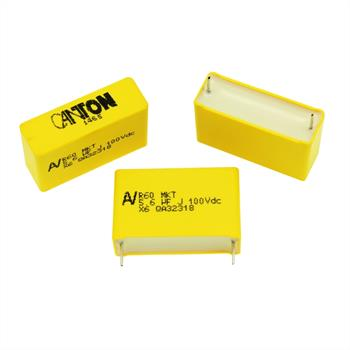 MKT-Kondens. rad. 5,6µF 100VDC RM27,5