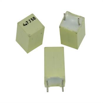 MKT-Kondensator radial 4,7µF 50V DC ; RM5 ; R82CC4470JB30K ; 4,7uF