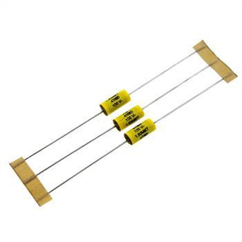 MKT-Kondens. ax. 0,47µF 100VDC 6x14mm