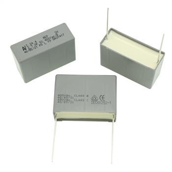 MKP-Kondens. rad. 2,7µF 400VAC RM37,5