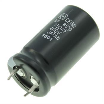 Snap-In Elko Kondensator 150µF 400V 85°C ; ECOS2GP151BB ; 150uF