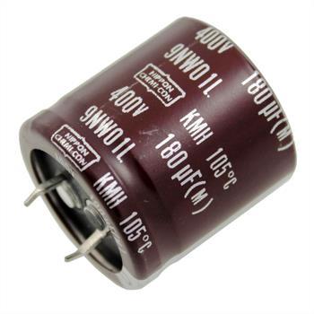 Snap-In Elko Kondensator 180µF 400V 105°C ; KMH400VN18130X30T2 ; 180uF