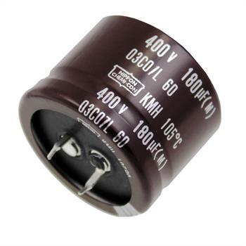 Snap-In Elko Kondensator 180µF 400V 105°C ; KMH400VN18135X25T2 ; 180uF