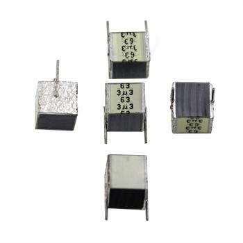 MKT-Capacitor rad. 3,3µF 63V DC ; 7,5mm ; B32560J335K ; 3,3uF