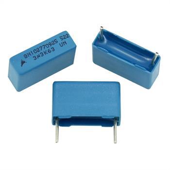 MKT-Capacitor rad. 3,3µF 63V DC ; 15mm ; B32522C335K ; 3,3uF