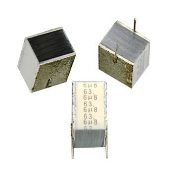 MKT-Kondens. rad. 6,8µF 63VDC RM7,5