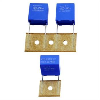 MKP-Kondens. rad. 0,47µF 305VAC RM15