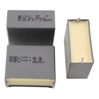 Motorkondensator 3µF 400V AC ; RM37,5 ; C2460AA4300CD9M ; 3uF