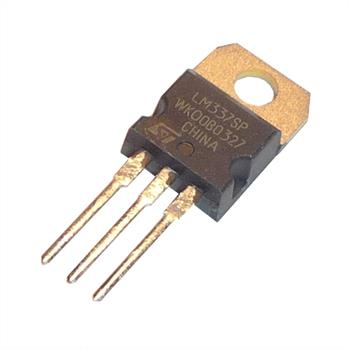 Voltage regulator LM337T -1,2...-37V 1,5A TO-220 ; Fairchild