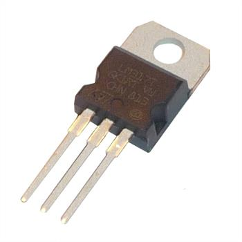 Voltage regulator LM317T +1,2...+37V 1,5A TO-220 ; STM