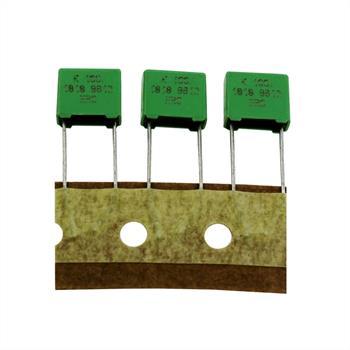 MKT Folien Kondensator Radial 0,22µF 100V DC Roederstein 1818-422/015W 220nF