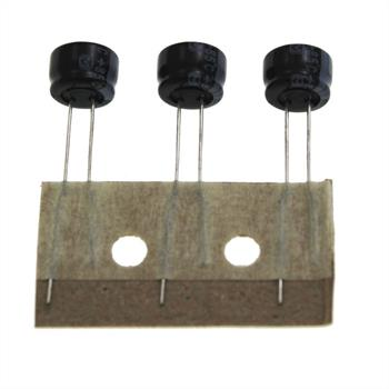 Elko Kondensator Radial 220µF 10V 105°C ECEA1AKS221I d8x5mm 220uF