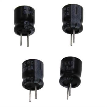 Elko Kondensator radial 100µF 16V 85°C ; EKF05BM310D00K ; 100uF