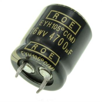 Snap-In Electrolytic Capacitor 4700µF 16V 105°C ; EYH07LU447D02K ; 4700uF