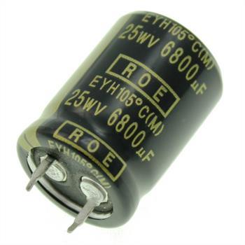 Snap-In Elko Kondensator 6800µF 25V 105°C ; EYH07LV468E02K ; 6800uF
