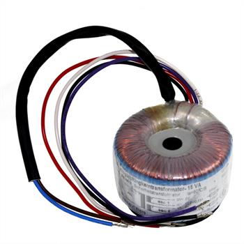 Ringkerntrafo 15VA 230V -> 2x15V / 1x30V ; Sedlbauer, RSO-825003