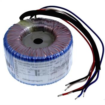 Ringkerntrafo 100VA 230V -> 2x12V / 1x24V ; Sedlbauer, RSO-825026