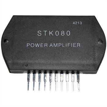 Hybrid-IC STK080 ; Power Audio Amp