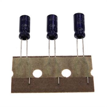 Elko Kondensator radial 2,2µF 100V 85°C ; SG2A225M05011PC380 ; 2,2uF