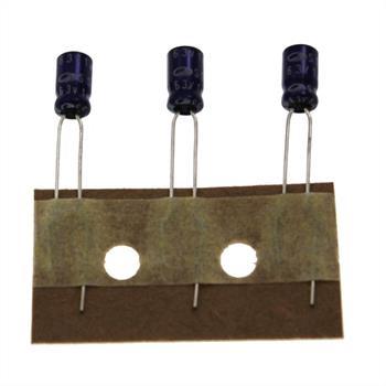 Elko Kondensator radial 1µF 63V 85°C ; SS1J105M04007PC380 ; 1uF