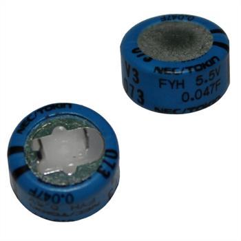 Goldcap Kondens. 0,22F 5,5V RM5 d14x14mm