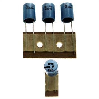 Elko Kondensator Radial 470µF 6,3V 105°C 222211633471 d8x11mm 470uF