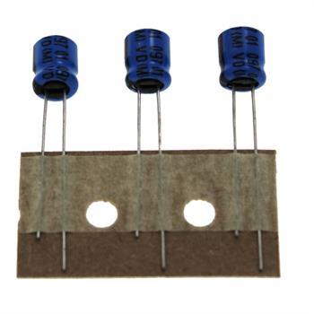 Elko Kondensator Radial 100µF 10V 85°C 222209774101 d6,3x7mm 100uF