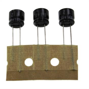 Elko Kondensator Radial 180µF 10V 105°C 10ZL180MTZ d8x7mm 180uF