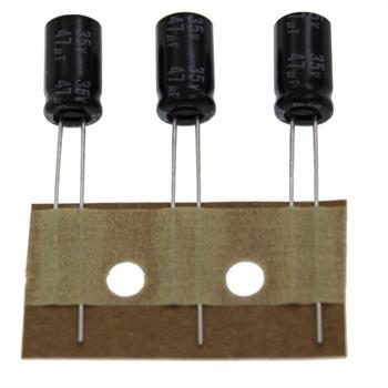 Elko rad. 47µF 35V 105°C RM2,5 6,3x11mm