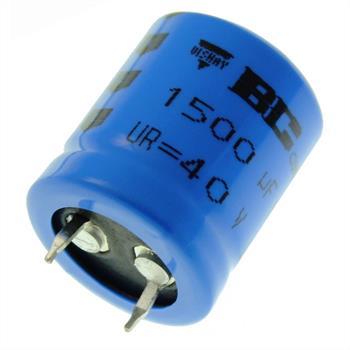 Snap-In Elko Kondensator 1500µF 40V 105°C ; 222205857152 ; 1500uF