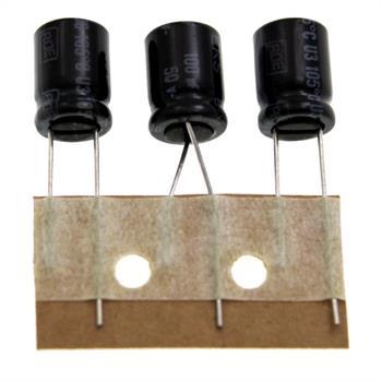 Elko rad. 100µF 50V 105°C RM3,5 8x12mm