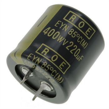 Snap-In Elko Kondensator 220µF 400V 85°C ; EYN07BV322Y02K ; 220uF