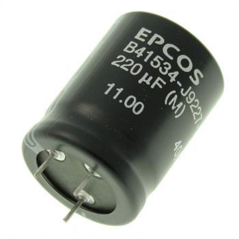 3-Pin Elko Kondensator 220µF 100V 85°C ; B41534J9227M ; 220uF