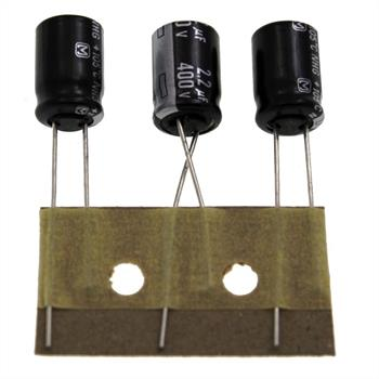 Elko Kondensator radial 2,2µF 400V 85°C ; ECA2GHG2R2BJ ; 2,2uF
