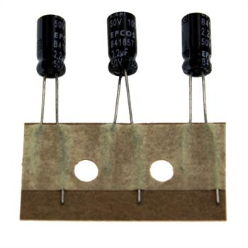 Elko rad. 2,2µF 50V 105°C RM2,5 5x11mm