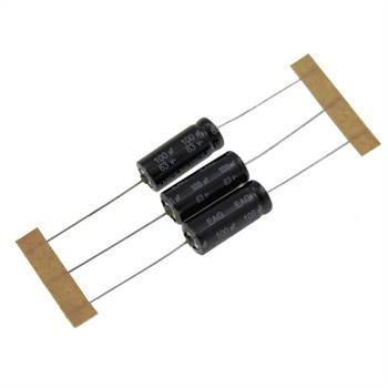 Elko Kondensator axial 100µF 63V 105°C ; EAG3115 ; 100uF