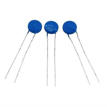 PTC Kaltleiter Thermistor 15R 120°C ; RM5 d10x3 ; Epcos, B59860C0120A070