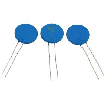 PTC Kaltleiter Thermistor 2,6R 160°C ; RM5 d25x3 ; Epcos, B59810C0160A070