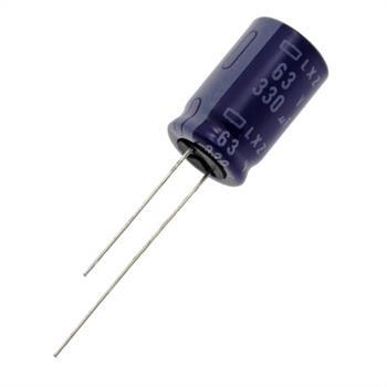 Elko rad. 330µF 63V 105°C RM5 12,5x20mm