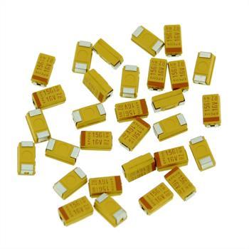 Tantal Kondensator SMD 15µF 16V 125°C ; Gr. C ; B45196H3156K309 ; 15uF