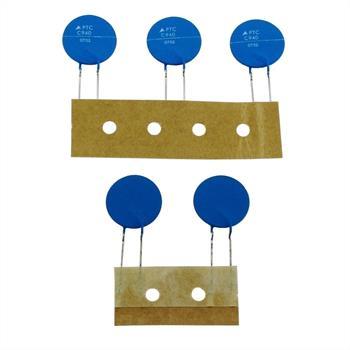 PTC Kaltleiter Thermistor 2,3R 120°C ; RM5 d16x1 ; Epcos, B59940C0120A054
