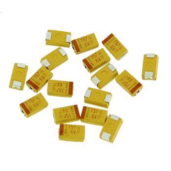 Tantal Kondensator SMD 150µF 6,3V 125°C ; Gr. D ; B45196H1157K409 ; 150uF