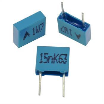 MKP-Capacitor rad. 15nF 63V DC ; 5mm ; B32529C0153K000 ; 15000pF