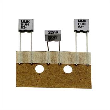 MMK Folien Kondensator Radial 0,022µF 63V DC Evox Rifa MMK5223K63J01TR18 22nF