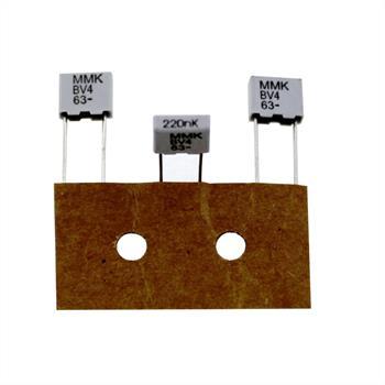 MMK-Capacitor rad. 0,22µF 63V DC ; 5mm ; MMK5224K63J01TR18 ; 220nF