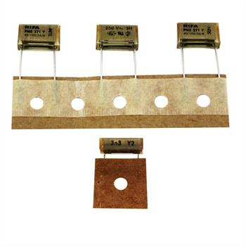 Entstörkondensator radial 3,3nF 250V AC ; RM12,5 ; PME271Y433MR19TO 3300pF