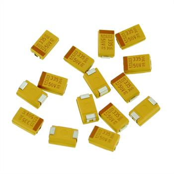 Tako SMD 3,3µF 50V 125°C Gr. D